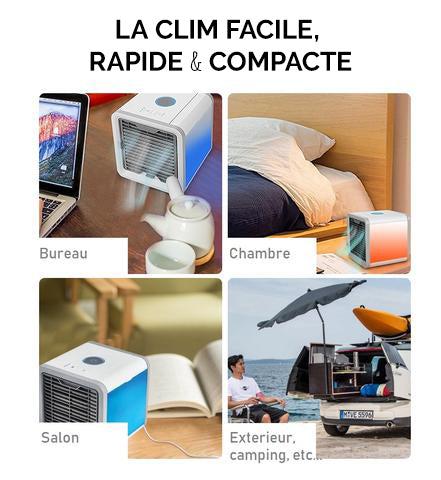 Mini Climatiseur Mobile Sans Evacuation Portable USB Silencieux