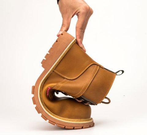 chaussure de sécurité haute flexible